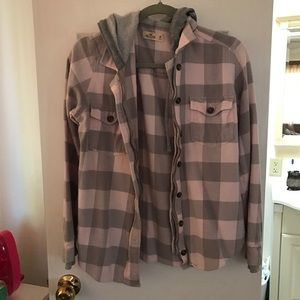Hollister Flannel size M