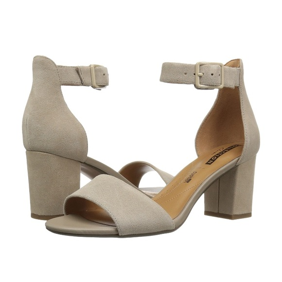 1da9ba4c7f1 Clarks Shoes - Clarks Deva Mae Block Heel Sandals
