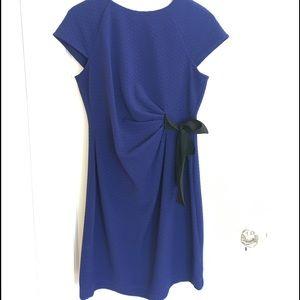 Pea In The Pod Cobalt Blue Maternity Dress