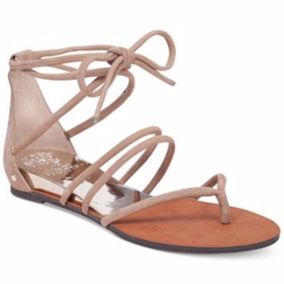 76e36435a Vince Camuto Adalson Strappy Flat Sandals. M 59b9b797f092823aaf001aa4