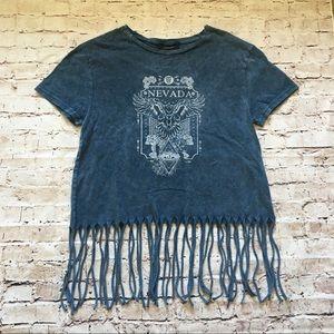Tops - NWT acid wash t shirt Nevada
