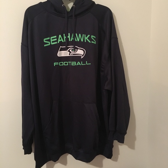 promo code 51b50 bb24b Men's Majestic Seattle Seahawks Hoddie