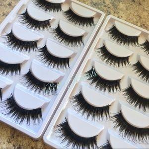 10 Pairs ✨ Long Fairy Wispy Eyelashes