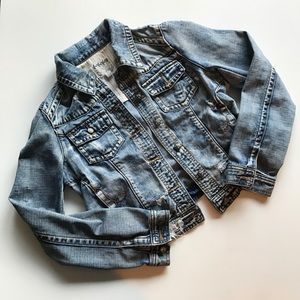 Others Follow Modcloth Distressed Jean Jacket