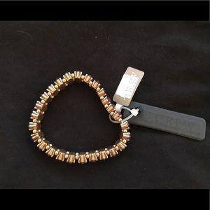 J. Crew stretch crystal bracelet