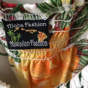Aloha Fashion Tops - Hawaiian tank top NWOT