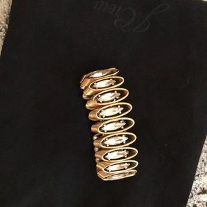 J.Crew stretch crystal bracelet