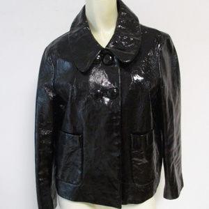 Phillip Lim 3.1 Black Leather Biker Jacket 10