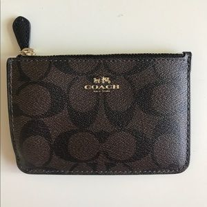 Coach ID case/card holder keychain (new with tags)