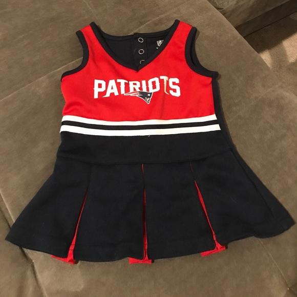f1e4ab2d8 Patriots cheerleading dress