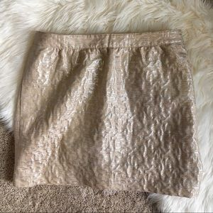 Loft Metallic Skirt