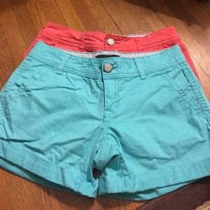 Aeropostale girls shorts. Two pair! Like new!