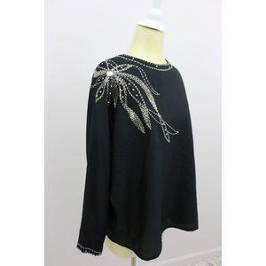 Vintage Sequin Flower Power Blouse🎉SOLD🎉