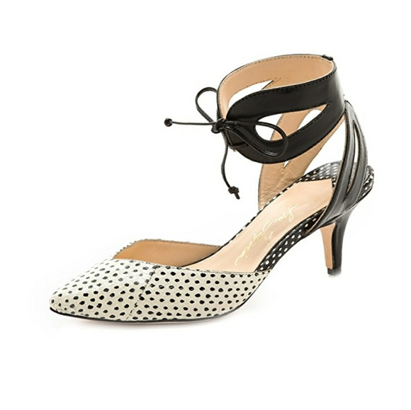 80d03f488d5 ISA TAPIA Shoes - ISA TAPIA Black Lucy Ankle Strap Pumps HTF!