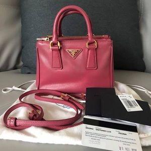 Prada Bags - Prada Saffiano Pink