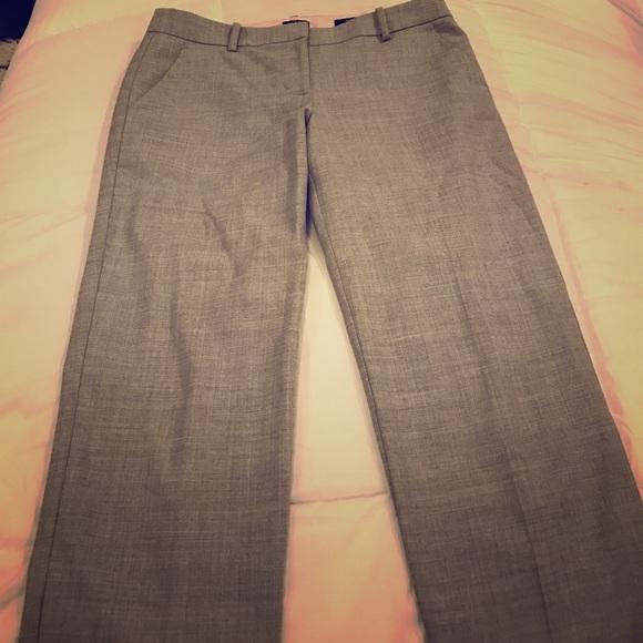 J. Crew Pants - J Crew Skimmer Pant Gray