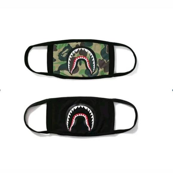 Bape Shark Logo Masks