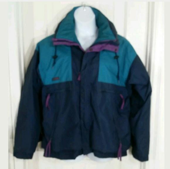 Vintage Columbia Ski Jacket Mens Large