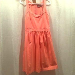Coral racerback dress