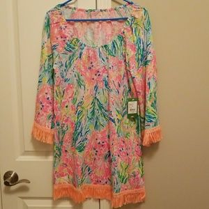 Lilly Pulitzer Getaway Cover-up in Fan Sea Pants