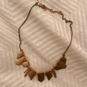 J. Crew Jewelry - J. Crew gold statement necklace ✨