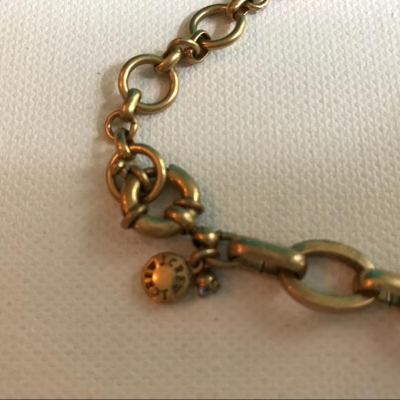 J. Crew Jewelry - J. Crew Navy & Aqua Stone Gold Statement Necklace