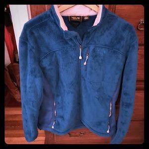 Mountain Hard Wear Blue Fleece Jacket
