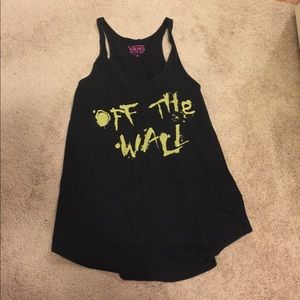 OFF THE WALL Racerback Tank