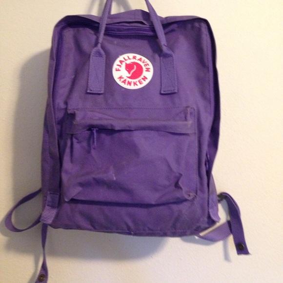 fjällräven rucksack kanken purple
