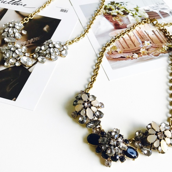 J. Crew Jewelry - 🍁HELLO FALL🍁J. Crew crystal statement necklace