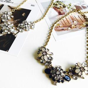 J. Crew Jewelry - 🍁HELLO FALL🍁J. Crew crystal statement necklace