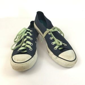 Converse All Star Blue Sneakers Short 6 Lace Up