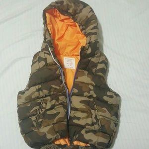 ZARA baby vest coat
