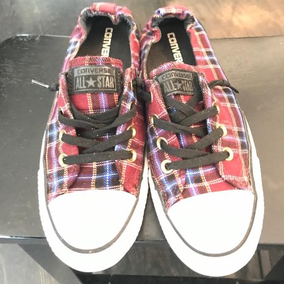 e00d9827ad5 Converse Shoes - Converse Shoreline plaid sneaker size 8.5
