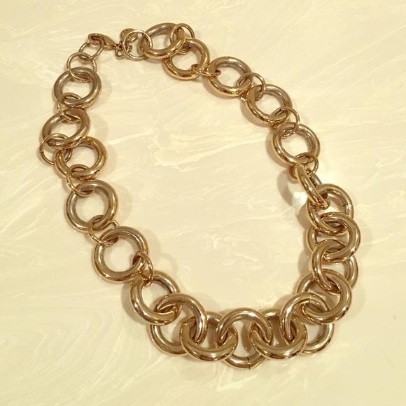 J. Crew Jewelry - J. Crew gold chain necklace