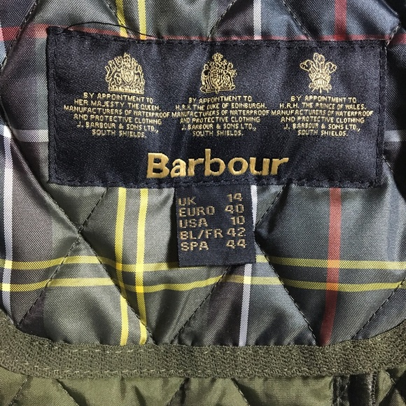 Barbour Tartan Betty Gilet