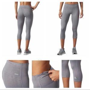 Adidas Climalite Capri Workout Pants