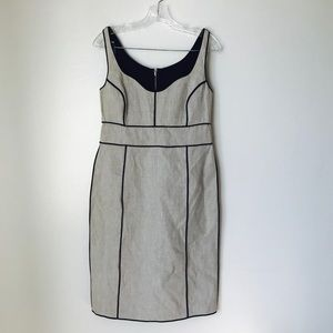 Narciso roqriguez grey career runway dress