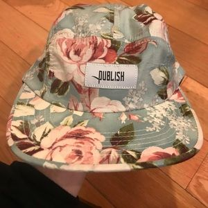 Accessories - Publish floral hat