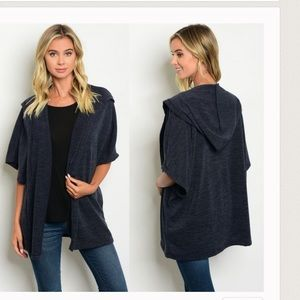 Sweaters - 🍂Hooded Knit Cardigan NWT 🍂