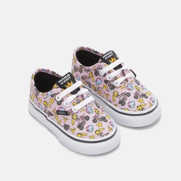 1ea06dff09 Nintendo Mario Kart Princess Peach Vans Shoes