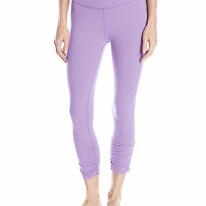 Beyond Yoga Side Gathered Capri Legging