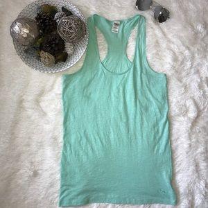 Victoria Secret Pnk Mint Green Racerback Tank