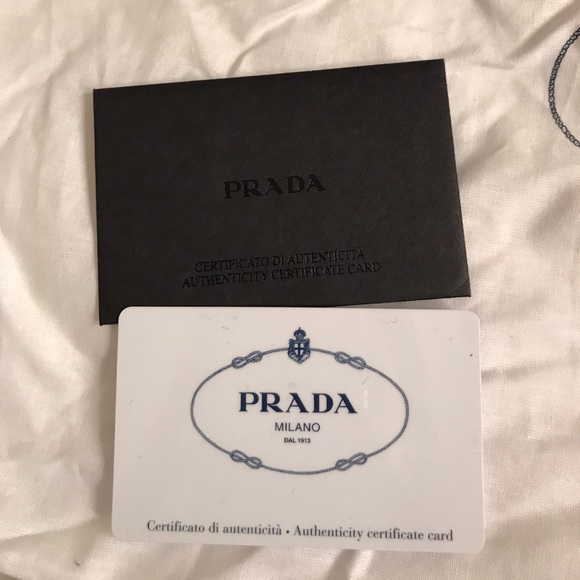 Prada Bags - Authentic Prada Handbag with Leather Trim