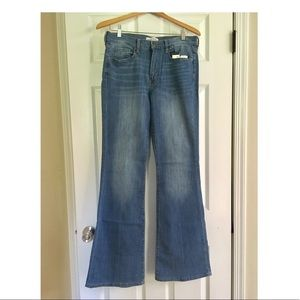 Banana Republic Light wash flare jean