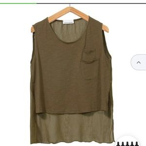 Tops - 🔸 Army Green Tank 🔸