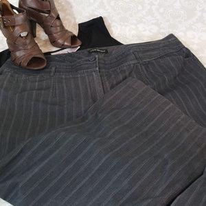 PLUS Lane Bryant Sz 22 Charcoal Dress Pants