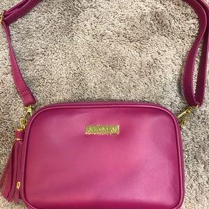 Joy and Iman hot pink purse