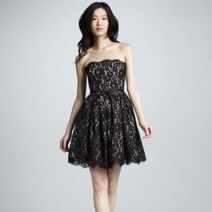NWT Black Lace Cocktail Dress by Robert Rodriguez