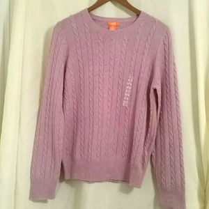 Lilac purple sweater